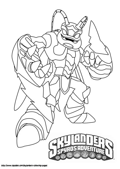 skylander coloring pages printable skylanders coloring pages feisty frugal fabulous