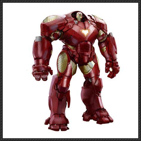 Ironman Papercraft - hulkbuster papercrafts papercraftsquare