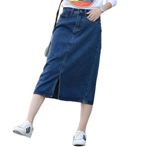 xs 8xl vintage denim skirt 2017 large size