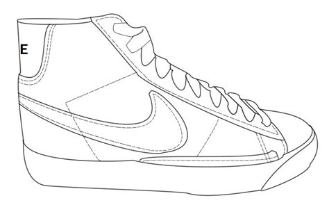nike jordans shoes drawings clipart clipart suggest