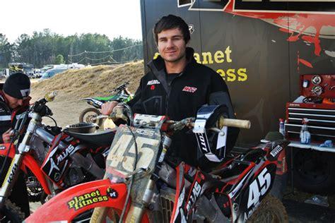 ama amatuer motocross hayden mellross aims for quick recover after texas crash