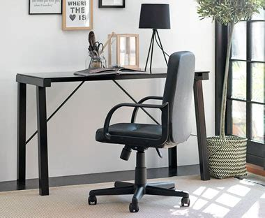 Jysk Computer Desk Lemming 64x48x73cm Black office desk computer desks for your home office jysk
