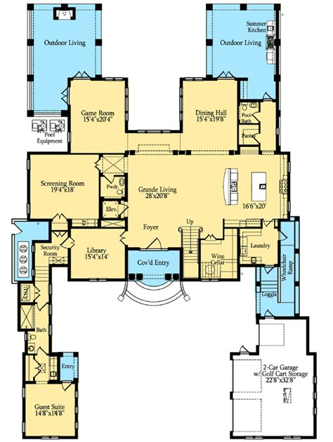 house plans with master suite on second floor magnificent estate home plan 42813mj 2nd floor master