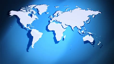 map background earth continents map global background 4k motion