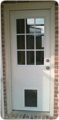 exterior door  built  pet door xpd series