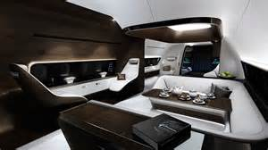 mercedes dreams up a swanky interior for jets wired
