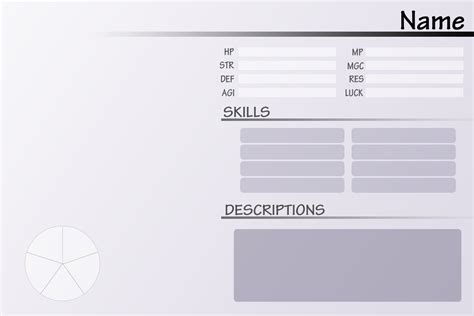 oc template template oc stats by shotafied on deviantart