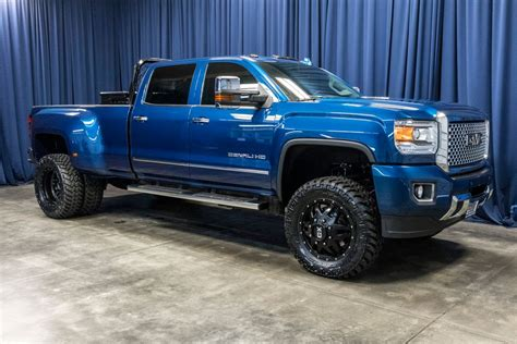 Lifted 2016 Gmc 3500 Hd Denali Dually 4x4