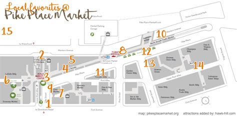 seattle map pike place market 15 things to do at pike place market plus local secrets