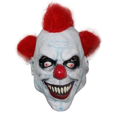 How To Make A Clown Mask Out Of Paper - aliexpress buy x merry killer clown mask