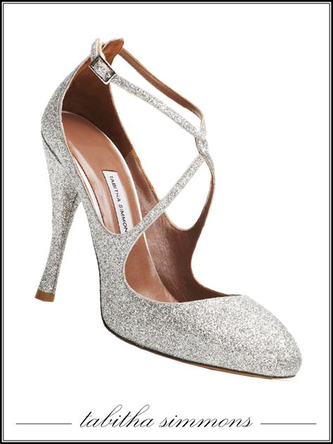 Silver Bridal Heels by Sparkly Silver Closed Toe Bridal Heels