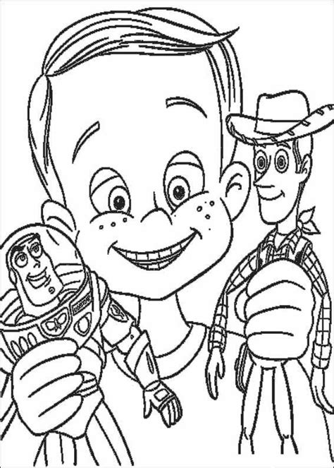 Animations A 2 Z Coloring Pages Of Toy Story Story Coloring Page