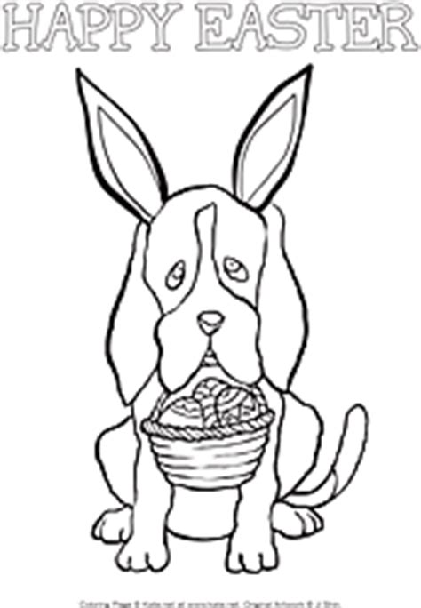 easter coloring pages with puppies printable easter coloring pages from kate net