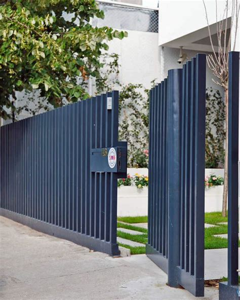 modern fence 327 best boundary walls fence gates images on pinterest