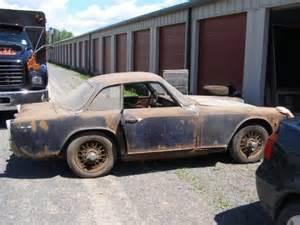 Italia For Sale 4 More Years 1960 Triumph Italia 2000 Project Bring A
