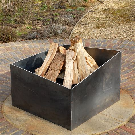 basalt welded steel fire pit by magma firepits