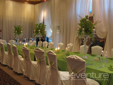 room draping for parties draped room and wall liners eventure designs toronto