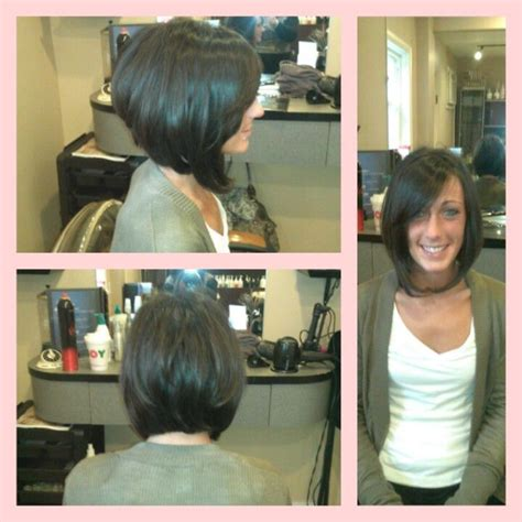 a line bob with swoopy bangs 17 best images about hair on pinterest bobs my hair and