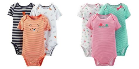 Carters Bodysuit Sweepstakes - carter s baby bodysuits only 2 10 each free store pick up