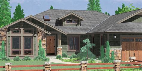 Craftsman House Plans For Homes Built In Craftsman Style Ranch House Plans With Screened Porch