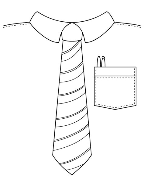 Father S Day Coloring Pages Make And Takes Tie Coloring Page