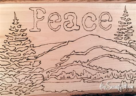 wood burning with stencils the crafter s workshop blog