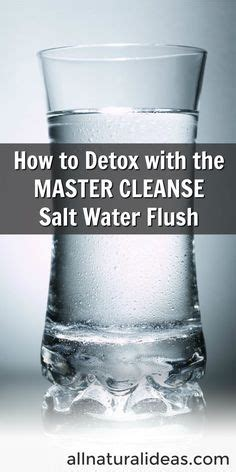 Master Cleanse Detox Salt Water Flush by Tips For Master Cleanse At Work Workin On My Fitness