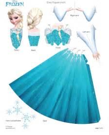 elsa papercraft frozen photo 35801187 fanpop