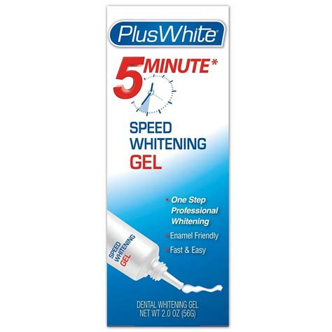white premier  minute speed teeth whitening gel  oz