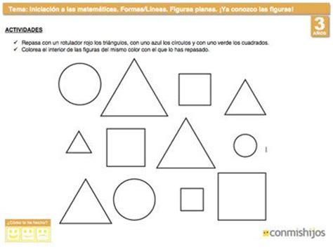 figuras geometricas actividades para preescolar m 225 s de 1000 ideas sobre ejercicios de figuras geometricas