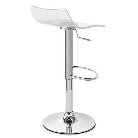 Chaise Acrylique by Chaise De Bar Acrylique Chrome Monde Du Tabouret