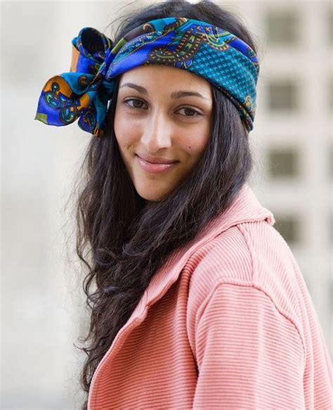 scarf headband costume ideas