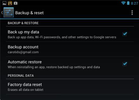 reset android nexus 7 google nexus 7 tablet hard reset or reboot