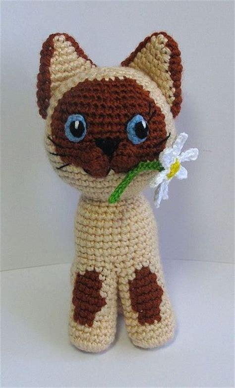 amigurumi kitten pattern amigurumi cat with flower free crochet pattern crochet