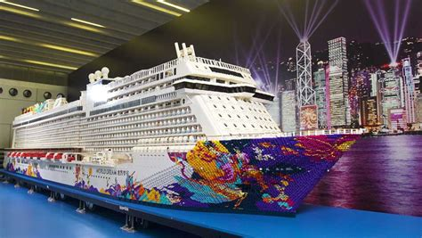 lego boat deck world s largest lego ship revealed was built using over 2
