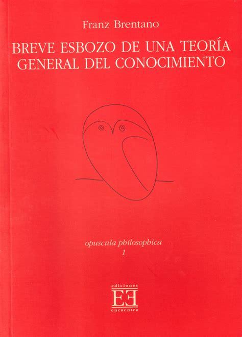 libro lerrore fotografico una breve breve esbozo de una teora general del conocimiento ediciones encuentro