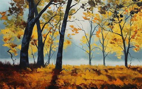 imagenes artisticas con autor pinturas paisajes de la naturaleza 225 rboles oto 241 ales