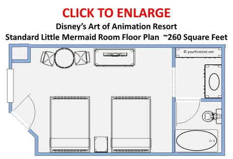art of animation family suite floor plan will abbf full size crib fit between the beds at aoa