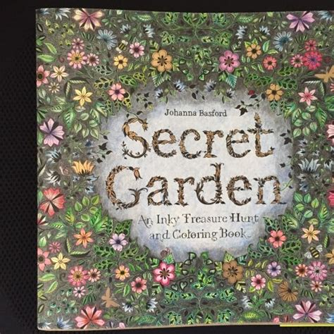 secret garden colouring book whitcoulls 17 best images about johanna basford colouring books on
