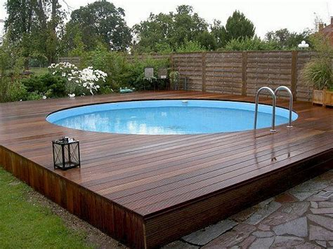 swimming pool holz top 112 diy above ground pool ideas on a budget https