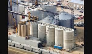 Deep Silo Builder by Hoffmann Inc Reinforced Concrete Soybean Meal Silos In