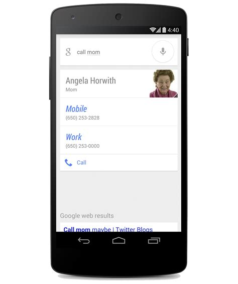 Call Lookup App Search Update Allows You To Call Or Text Family Without Even Speaking Their Name