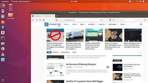 themes firefox quantum ubuntu news get firefox quantum update now ubuntu 18 04