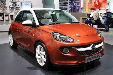 opel white opel adam is the little hatch to begin a big turnaround