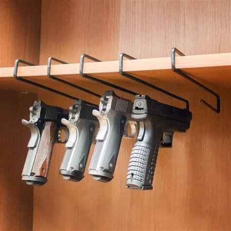 Gun Gripes Kitchen Gun Pistol Handgun Rack Safety Hanger Holder Hook Storage