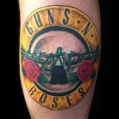 gun n roses tattoo guns n roses ideas collection