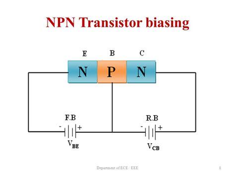 bipolar transistor biasing presentation on bipolar junction transistor ppt