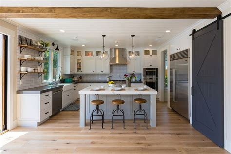 modern farmhouse kitchens 49 gorgeous modern farmhouse kitchens