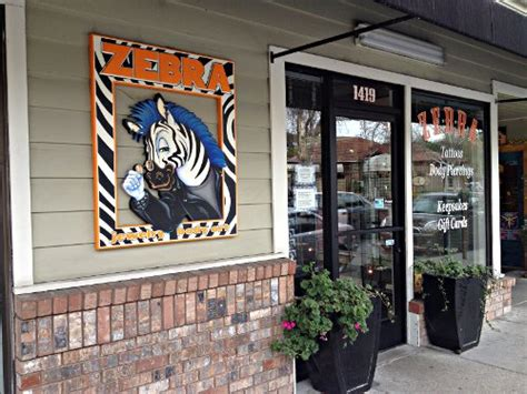 zebra tattoo walnut creek judging piercing parlors zebra beyond