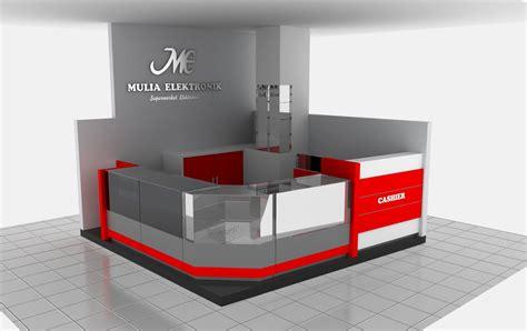 design etalase toko handphone design interior counter toko interior design jasa